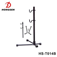 bicycle repair work stand bike garage parking rack