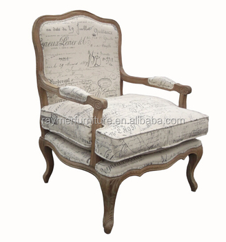 Classical Living Room Chairs Arm Chair In White With Footstool Frames In  Wood   Buy Wooden Chairs With Arms,Wood Chair With Rush Seat,Wood Saucer ...