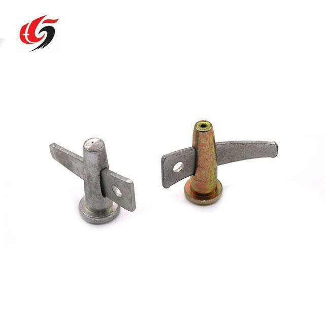 Concrete formwork wedge pin aluminium templae parts stud pin
