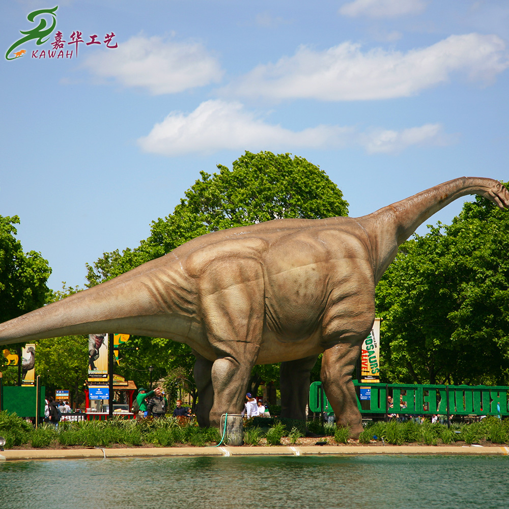 Life-size realistic animatronic king kong and dinosaurs made in China
