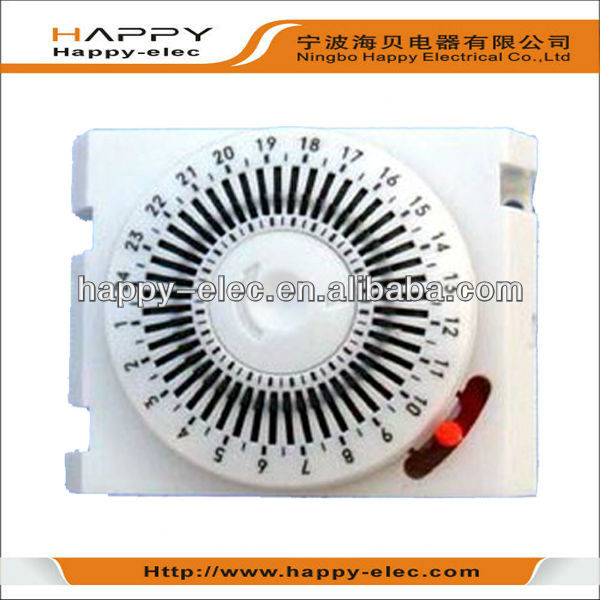 Daily mechanical shool bell timer for automation