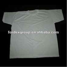 100% Cotton Promotion & Advertising White Plain T Shirt