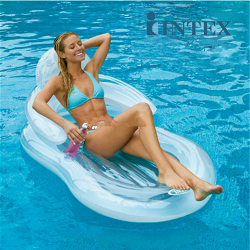 Comfort Float Pool Chair Mattress Inflatable Swimming Pool Floating Lounge  - Buy Pool Floating Lounge,Swimming Pool Floating Lounge,Inflatable ...
