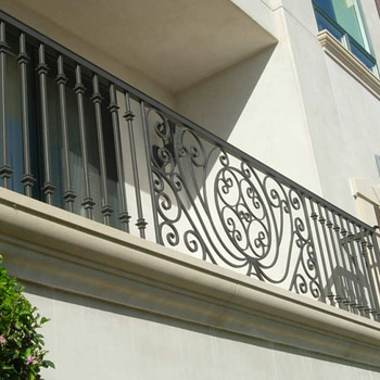 Por Design Indoor Hand Railing Balcony Designs Used Wrought Iron Stair