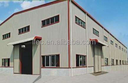 Steel structure fabricated building for customized warehouse