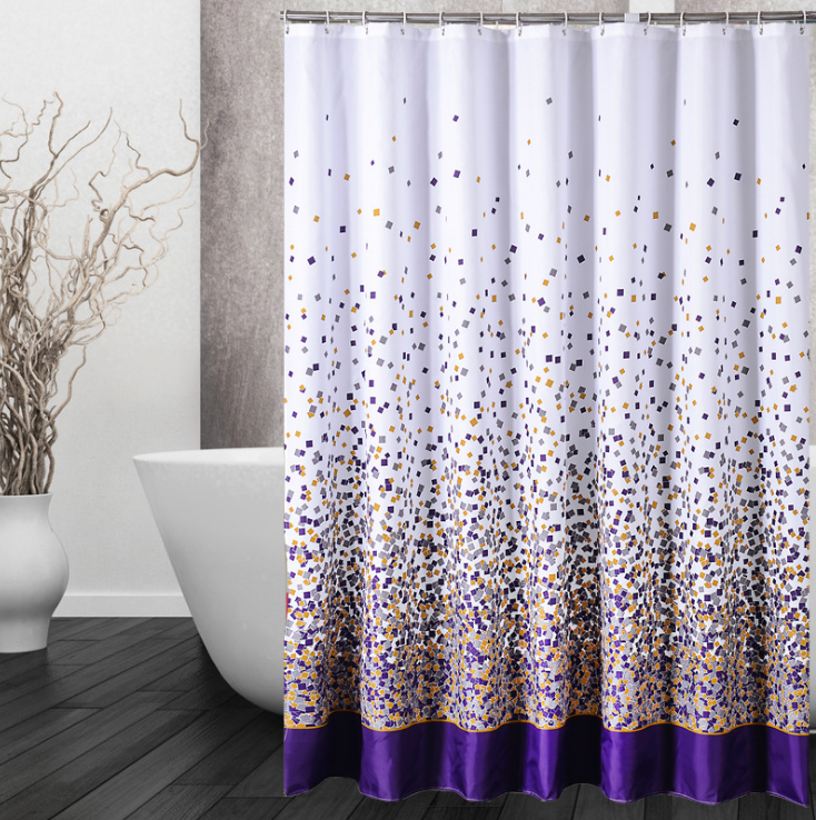 Double Swag Shower Curtain With Valance, Double Swag Shower Curtain With  Valance Suppliers And Manufacturers At Alibaba.com  Double Swag Shower Curtain