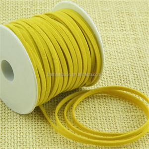 Contemporary new products faux suede silk cord