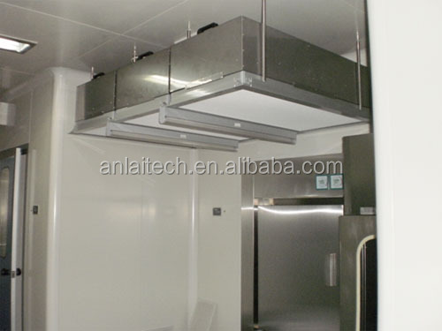 Class 100 Clean room Laminar flow HEPA ceiling FFU with Group Controller