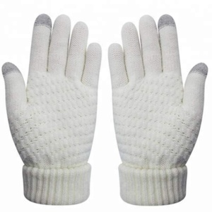 Soft Winter Knit Mittens Texting Cute Fashion Touch Screen Gloves For Smartphones