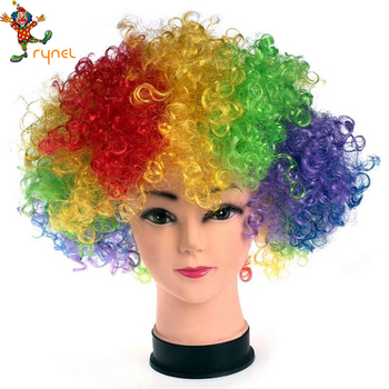 Pgwg1244 Afro Clown Cheveux Perruque De Fan