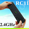 RC12 & RC11( English/Russian ) 2.4Ghz Fly Air Mouse Wireless Keyboard Combos Remote For Android mini PC TV Bo