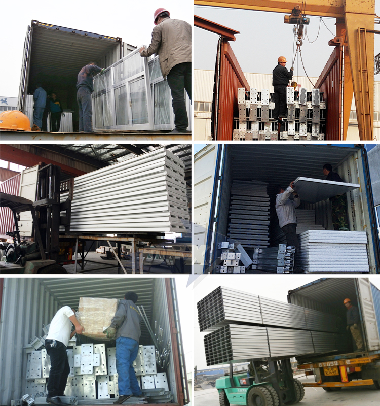 Factory Processing Workshop Building Prefab Warehouses Steel Structure