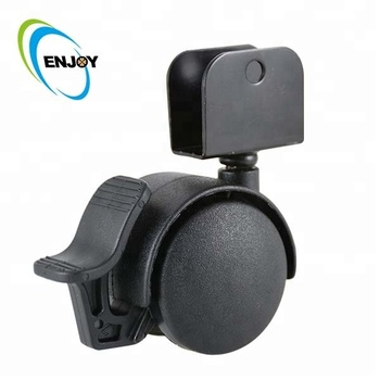 2018 products 50 mm small nylon medical caster wheel