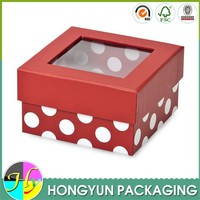 alibaba top sale clear lid gift boxes wholesale