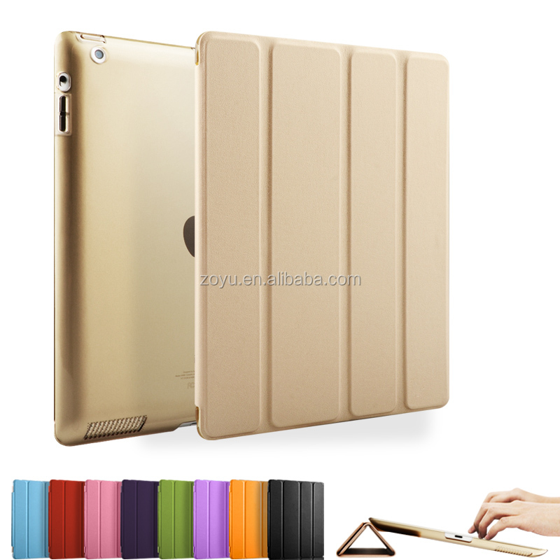 Heat Resistant Magnetic Folding Cover Shock Proof Case For Ipad