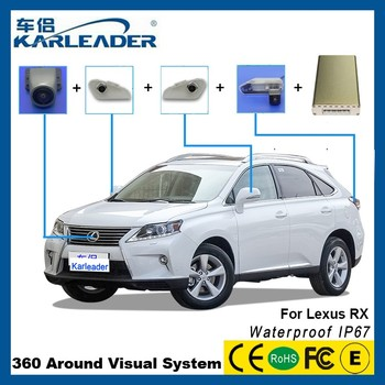 Delightful 360 Bird View Car Camera System For Lexus Rx350 Accessories