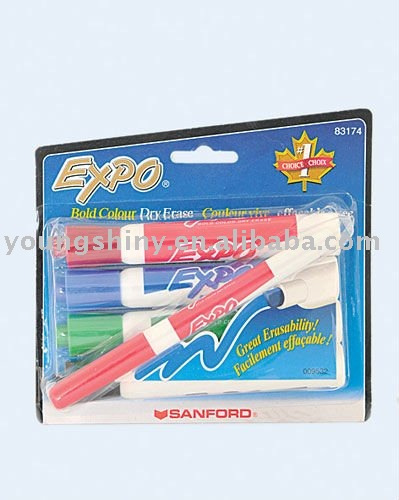 5-pc Bold Colour Dry-Eraser Marker