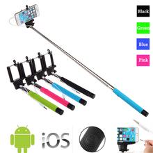 Kabelová selfie tyč s držákem pro Iphone, Android
