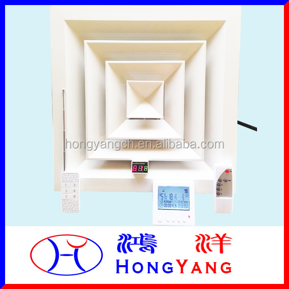 Linkage Electric Air Vent for Fan Coil