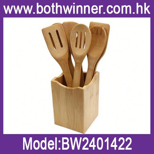 Top sell bamboo kitchen accessories cooking utensils ,h0ty8 bamboo&wood kitchen tools set for sale