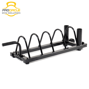 Body Building Multifunctional Weight Plate Rack Holder