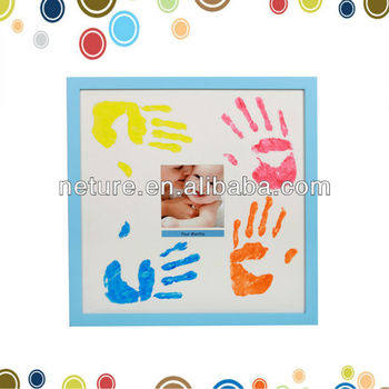 Hot Sale New Baby Safe Ink Pad Inkless Handprint And Footprint Impression  Frame - Buy Inkless Handprint,Baby Handprint Photo Frame,Baby Hand Print ...