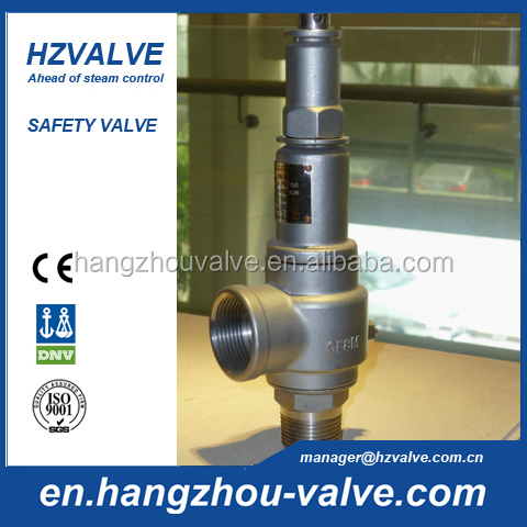 Air compressor safety valve