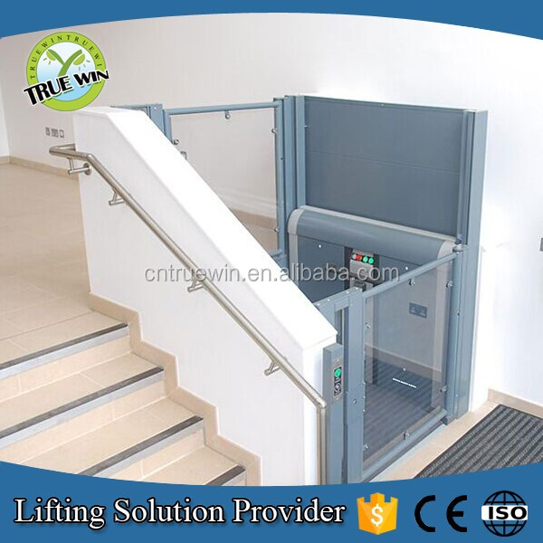 Home used mechanical lifting mechanisms vertical lift elevator for wheelchair