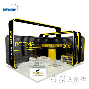 Expo Display Stands : Design trade show modular expo booths and build shanghai