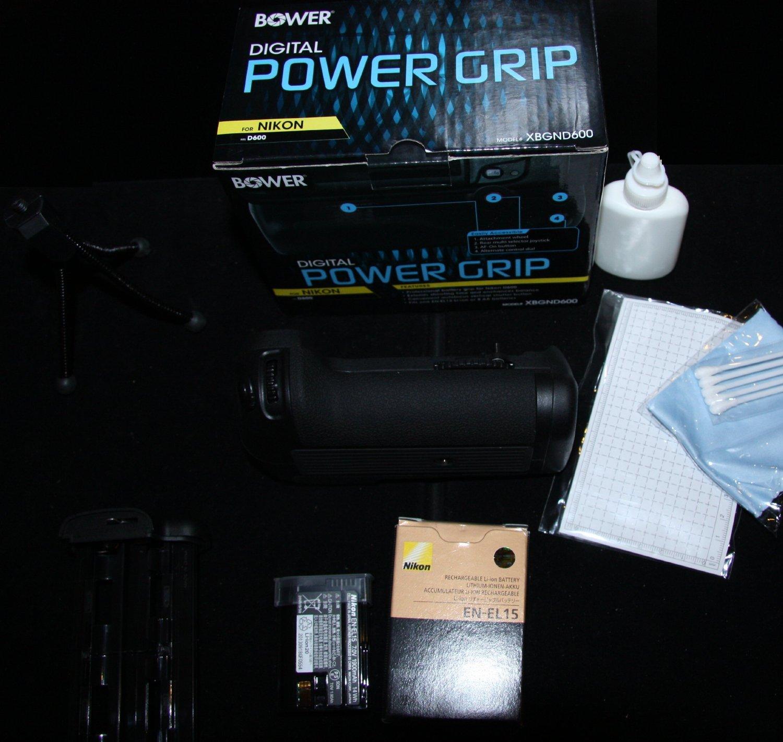 T44654 Memory Card SDENEL15 Battery SDM-1536 Charger Nikon D800 Digital Camera Accessory Kit Includes