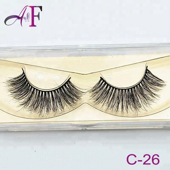 Wholesale Eye Lashes New Hand Made Natural Long False Eyelashes With Custom  Eyelash Packaging - Buy Mink Lashes With Custom Eyelash Packaging,3d Mink