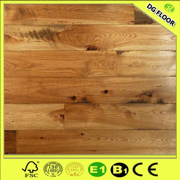 3 Layer Light Hickory Engineered Wood Floor