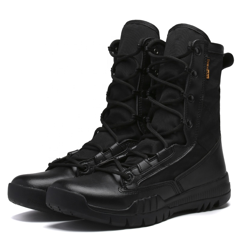 Top quality Factory direct men kenya used delta force desert tactical army combat military boots