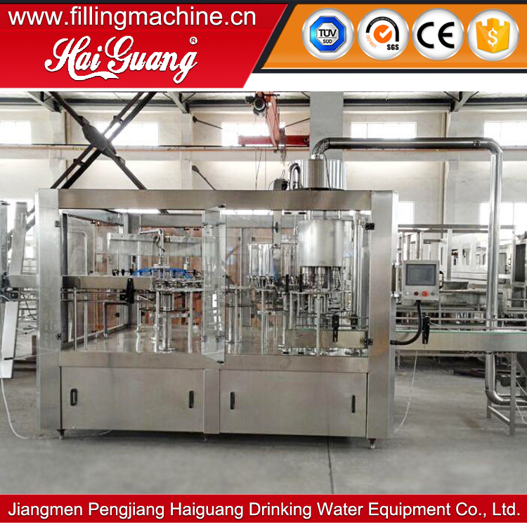 High quality cheap price concentrated juice bottling line equipment/tea hot filling machine