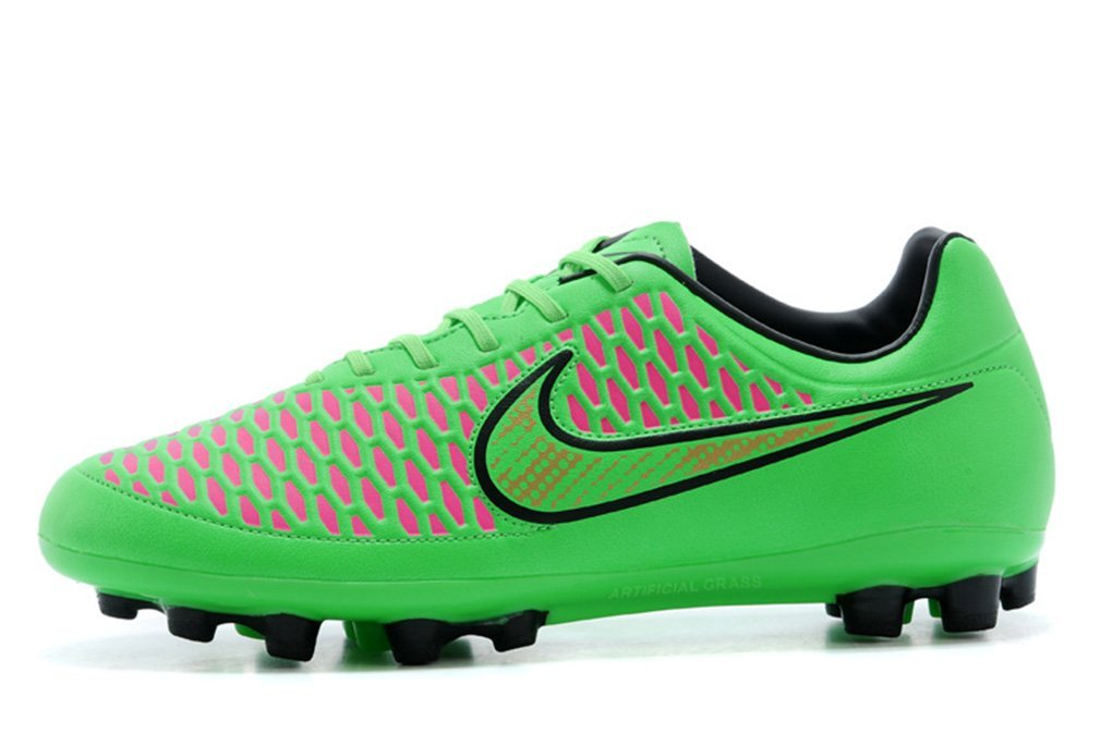 Mens Magista Orden AG Volt Metallic Green Pink-Blue-Hyper Punch Soccer Boots  Low d4483b2142