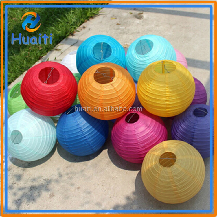 Wholesale hot selling cheap chinese lanterns round ball paper decorative lantern