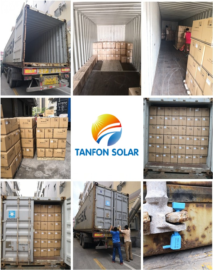 solar inverter quqnaity packing and shipment