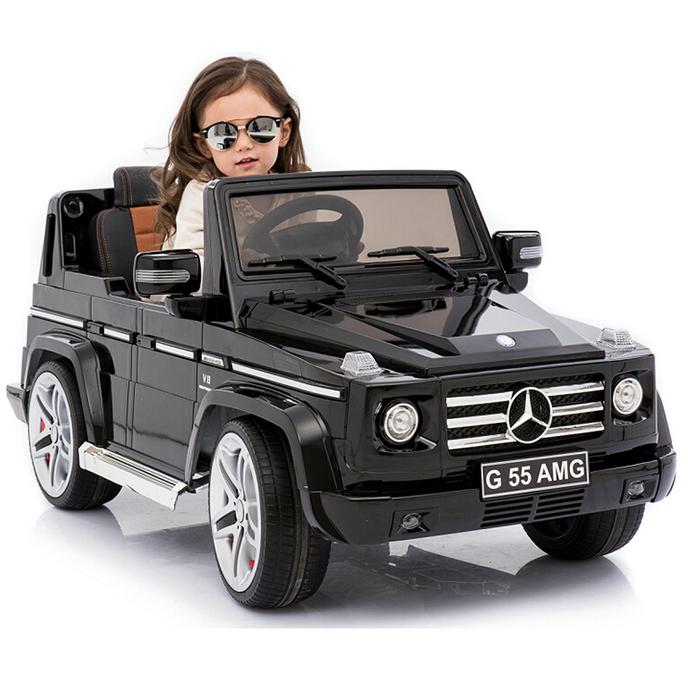Mercedes Benz G55 Amg License Car 12v Kids Electric Car Ride On Car In Black Color - Buy 12v Kids Electric Car,Ride On Car,Kids Plastic Car Ride On Car Toy Product on