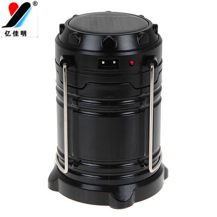 Solar Zoom Rechargeable LED Camping Lantern Lamp with Hooks YJM-G80 New Arrival Led Camping Equipment as Christmas Best Presents
