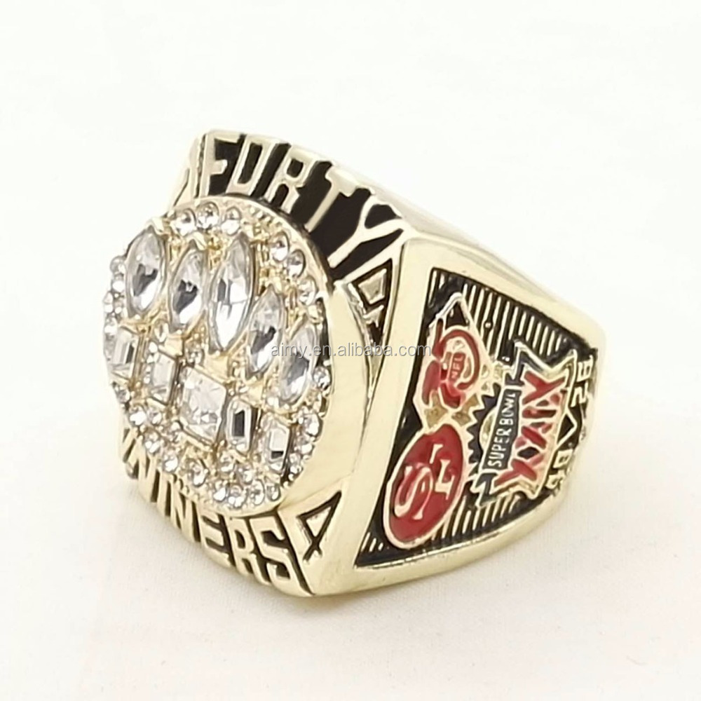 Who Can Beat Our Rings, High Quality 1994 San Francisco 49ers Championship Ring For Men's Fashion Jewelry