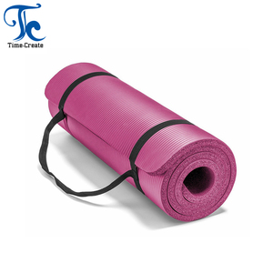 Timecreate Sports NBR yoga mat with strap or net bag for gym yoga training