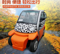 New Energy Electric Vehicle Automobile Mini 4 Wheel Car Electric Mobility Scooter For Elders 60V 4500W Electric Car For Sale
