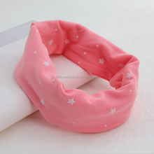 2017 Fashion hot Selling new design pretty knit baby scarf