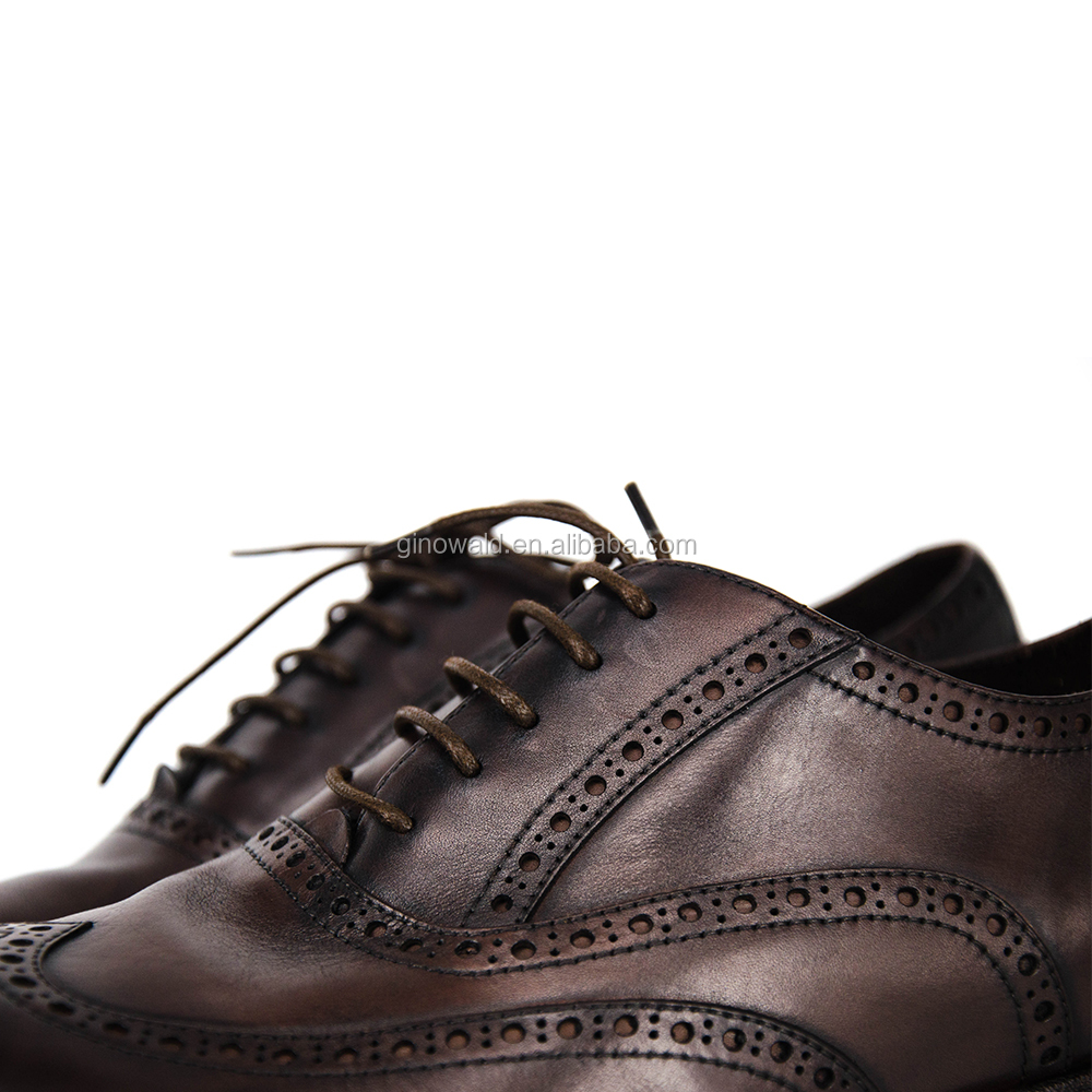 High genuine leather brand names quality shoes handmade mens material BPOqTBWYwr