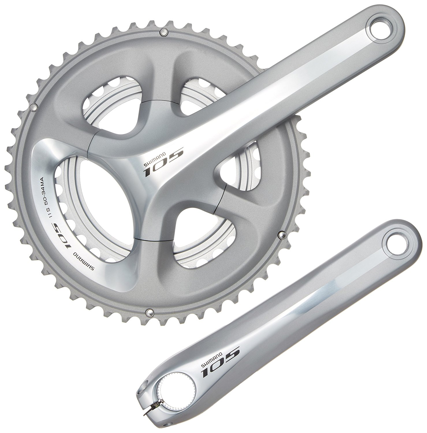 Buy 2015 Shimano 105 5800 Chainset Silver 11 Speed In Cheap Price On Groupset New Box