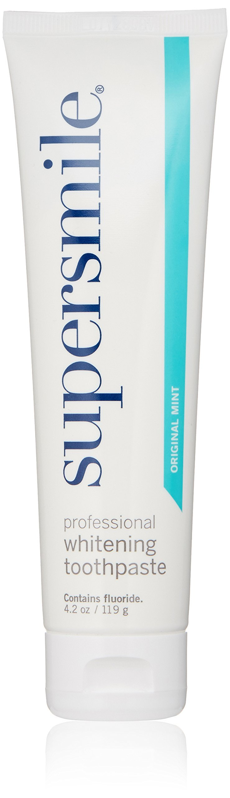 Supersmile Professional Teeth Whitening Toothpaste – Recommended By Cosmetic Dentists, CLINICALLY PROVEN TO WHITEN TEETH AND SUPPORT GUM HEALTH, No Sensitivity - 3 Month Supply
