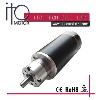 80mm High Toruqe Rare Earth Permanent Magnet Dc Motor For