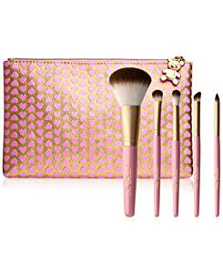Too Faced Pro-Essential Luxurious Teddy Bear Hair Brush Set & Makeup Bag