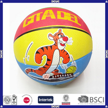 Hot Sale Cheap OEM Animal Printing Eco-Friendly Material Basketball Kids Like