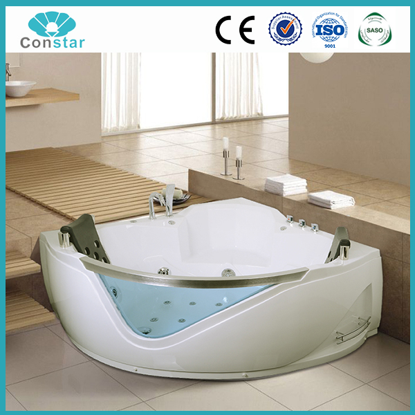 Hangzhou Constar factory price hot tubs,air bubble luxury whirlpool bathtub with pumps